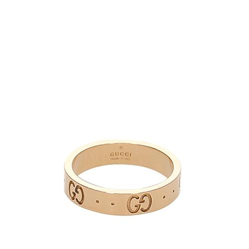 Gucci Icon Ring - 5 1/2