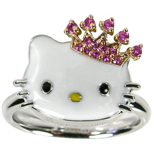 Hello Kitty Princess Kitty Ring