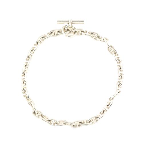 Hermes Chaine dAncre PM Silver Necklace