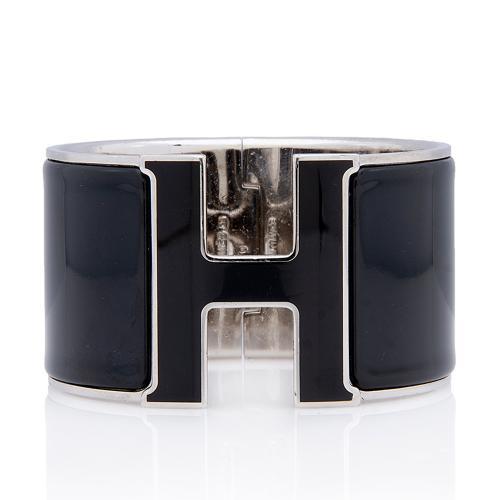 Hermes Clic Clac H Extra Wide Bracelet