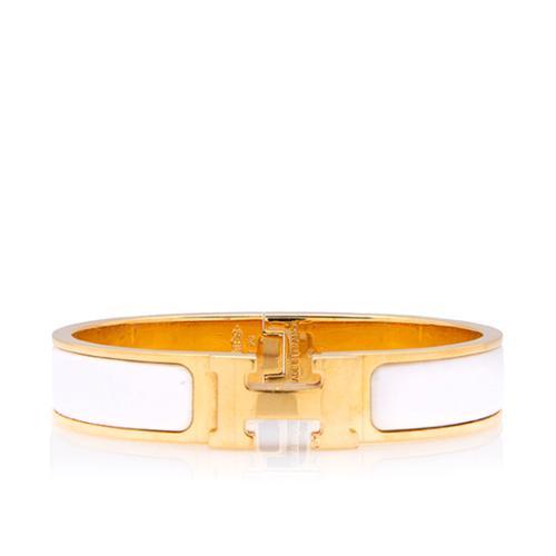 Hermes Clic Clac H Narrow Bracelet