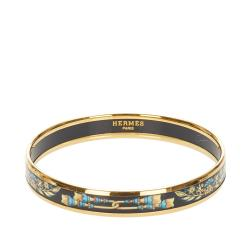 Hermes Cloisonne Bangle