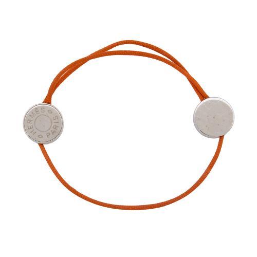 Hermes Clou de Selle Cord Bracelet