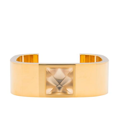 Hermes Crystal Saint Louis Circle Bracelet