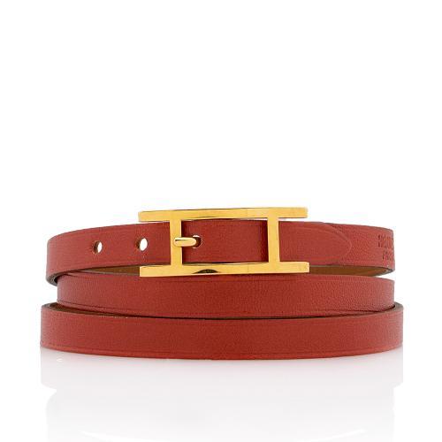 Hermes Epsom Swift Bhapi Double Tour Bracelet