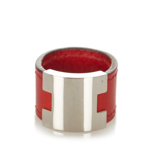 Hermes H Logo Ring - 5 1/4