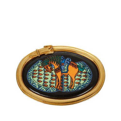 Hermes Horse Brooch