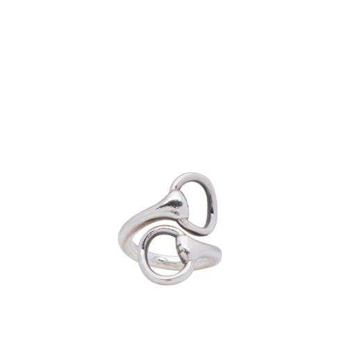 Hermes Horsebit Wrap Ring - Size 7 1/2