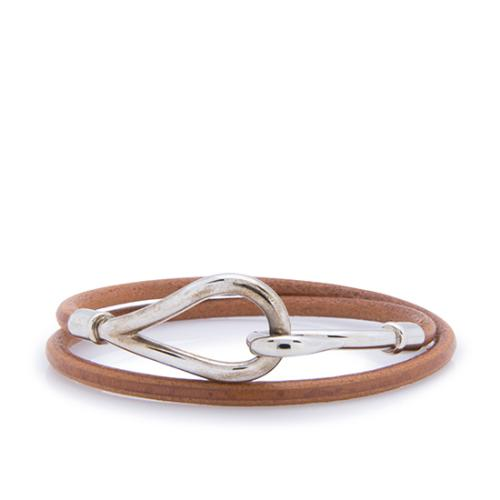 Hermes Jumbo Hook Double Tour Bracelet - FINAL SALE