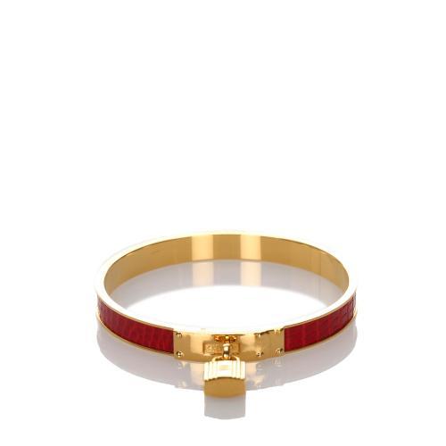 Hermes Kelly H Lock Cadena Bracelet