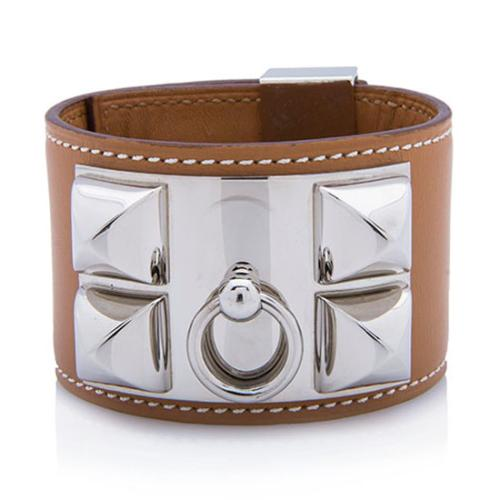 Hermes Swift Leather Collier de Chien Bracelet