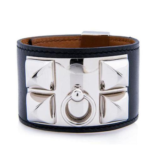 Hermes Swift Leather Collier de Chien Bracelet