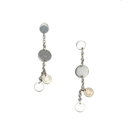 Hermes Two Tone Confettis Earrings