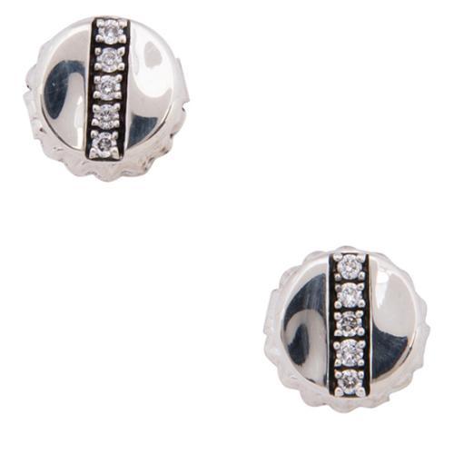 IPPOLITA Sterling Silver Diamond Senso Mini Stud Earrings