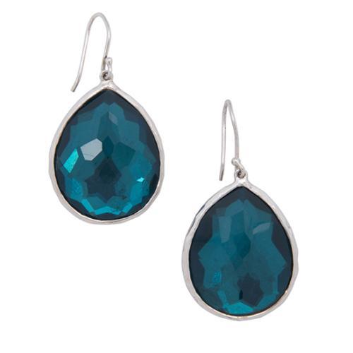 Ippolita Sterling Silver Quartz Teardrop Wonderland Earrings