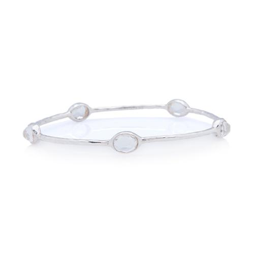 Ippolita Sterling Silver Rock Candy 5 Stone Bangle