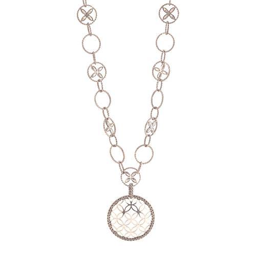 John Hardy Kawung Circle Sautoir Pendant Necklace