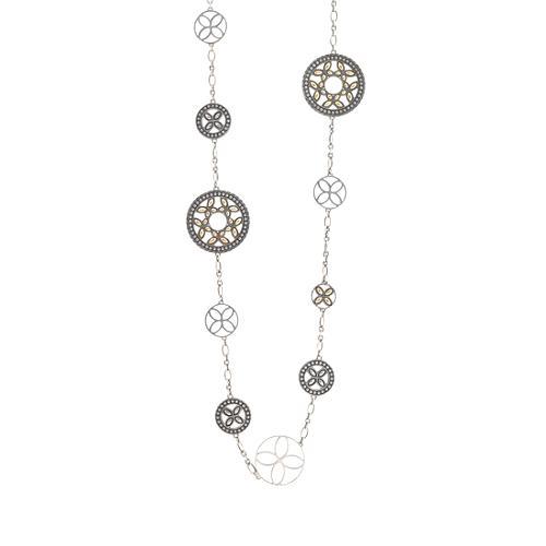 John Hardy Kawung Large Circle Sautoir Necklace