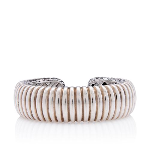 John Hardy Sterling Silver Hinge Cuff Bracelet