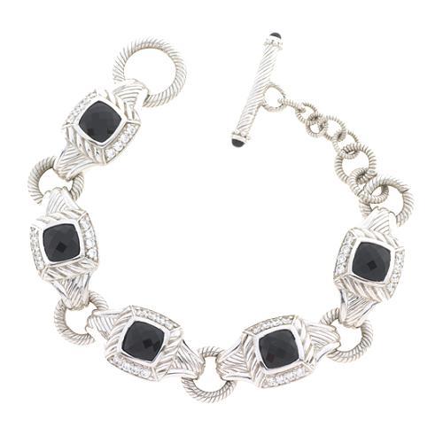 Judith Ripka Black Onyx Bracelet