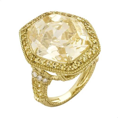 Judith Ripka Capri Two Tone Ring
