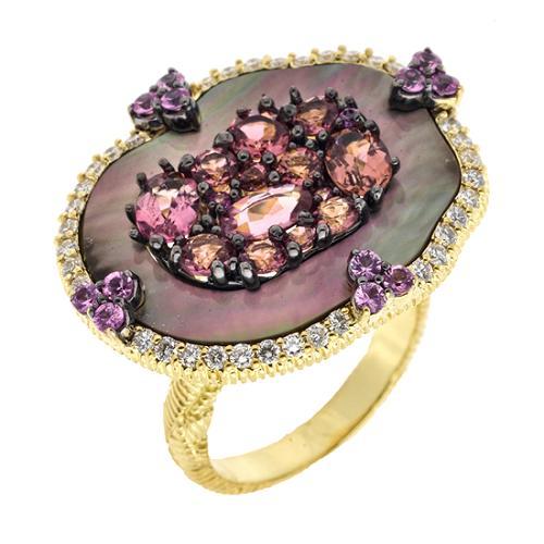 Judith Ripka Large Oasis Ring - Size 7