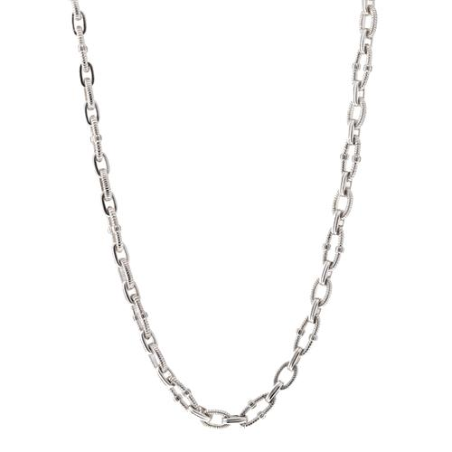 Judith Ripka Silver Link Necklace