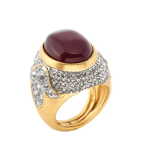 Juicy Couture Baroque Cabochon Ring