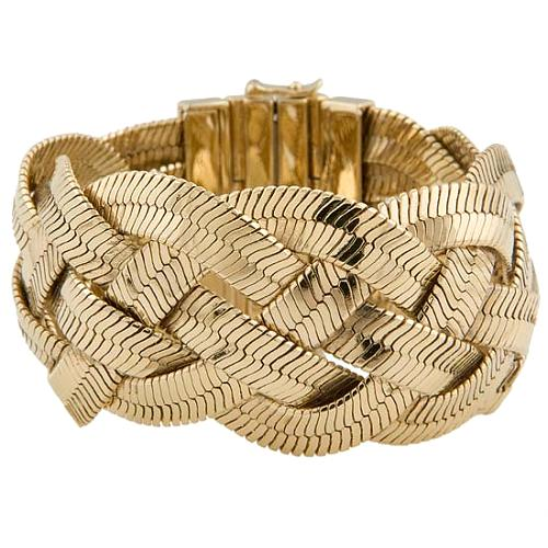 Juicy Couture Braided Wide Bracelet