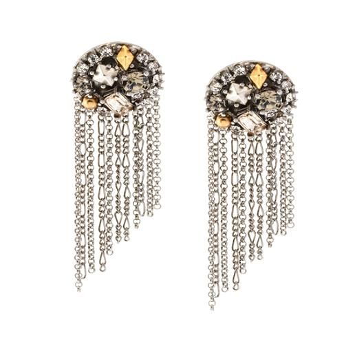 Juicy Couture Day Glow Button Earrings