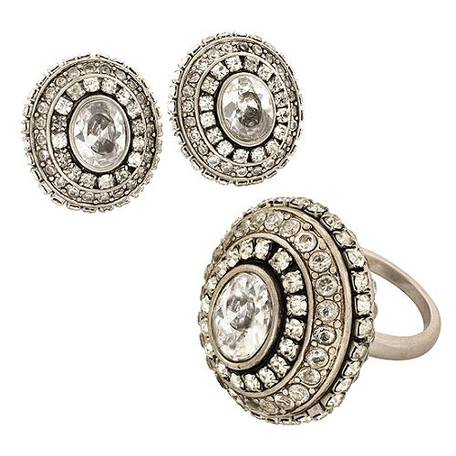 Juicy Couture Eclectic Glam Ring & Earrings