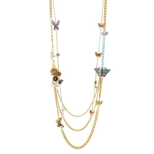 Juicy Couture Flights of Fancy Set of 2 Layering Necklaces