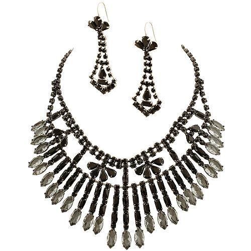 Juicy Couture Hide & Chic Necklace & Earrings