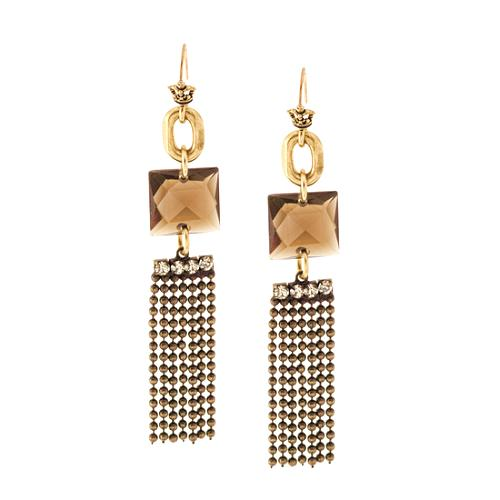 Juicy Couture Reinvent Yourself Pyramid Earrings