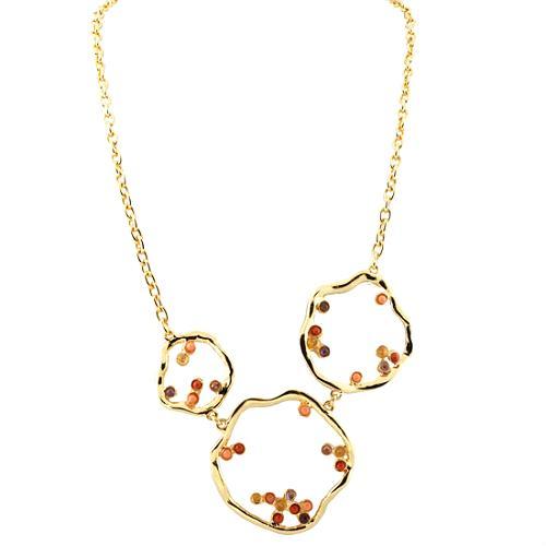 Kara Ross Flower Outline Necklace
