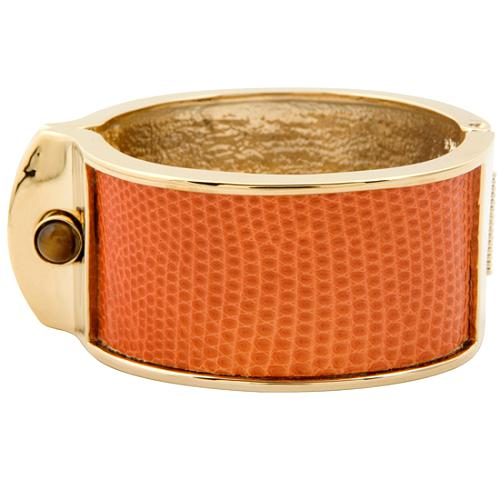 Kara Ross Orange Small Shirt Cuff