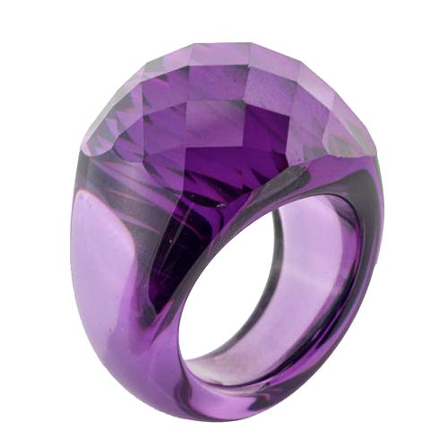 CZ by Kenneth Jay Lane Double Faceted Dome Ring