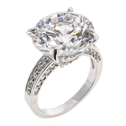 CZ by Kenneth Jay Lane Round Ring