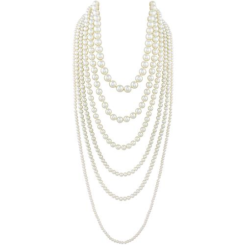 Kenneth Jay Lane 6 Row Necklace