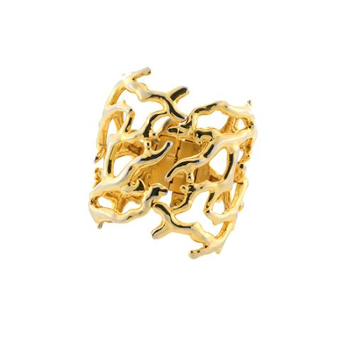 Kenneth Jay Lane Branch Cuff - FINAL SALE
