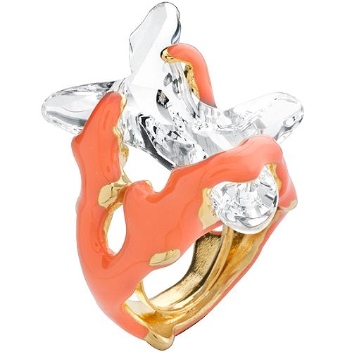 Kenneth Jay Lane Coral Ring