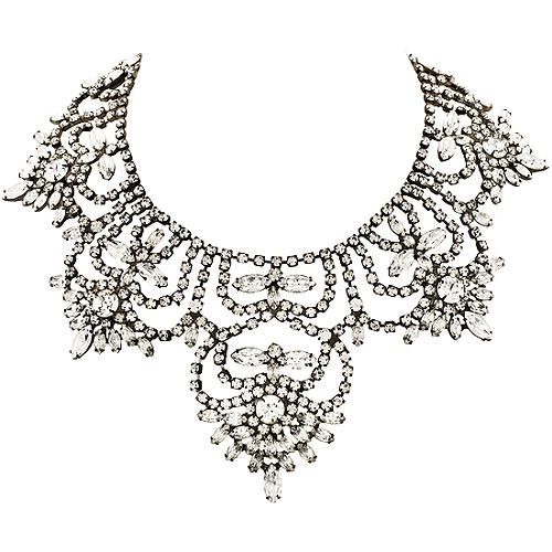 Kenneth Jay Lane Crystal Collar Necklace