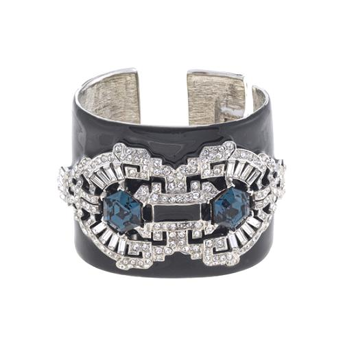 Kenneth Jay Lane Deco Cuff