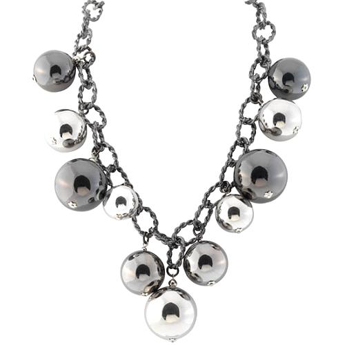 Kenneth Jay Lane Double Chain Necklace