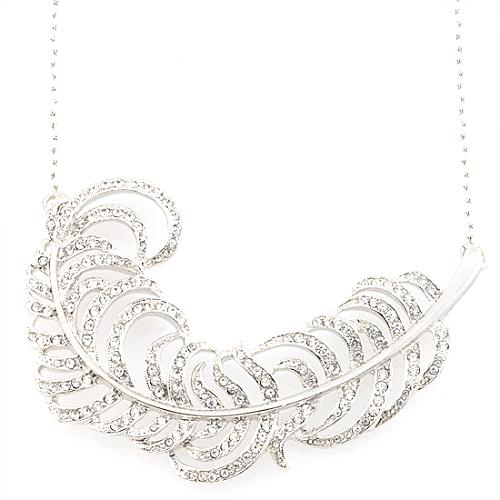 Kenneth Jay Lane Feather Necklace