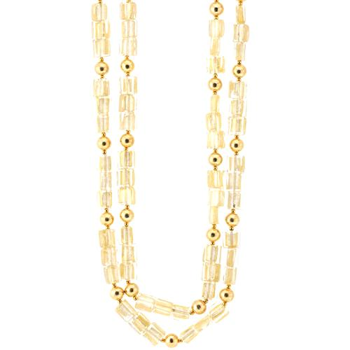 Kenneth Jay Lane Five Row Necklace