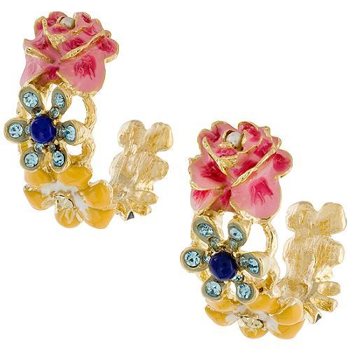 Kenneth Jay Lane Flower Earrings