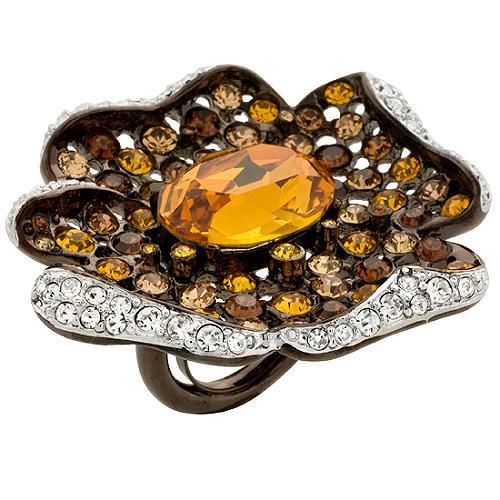 Kenneth Jay Lane Flower Ring