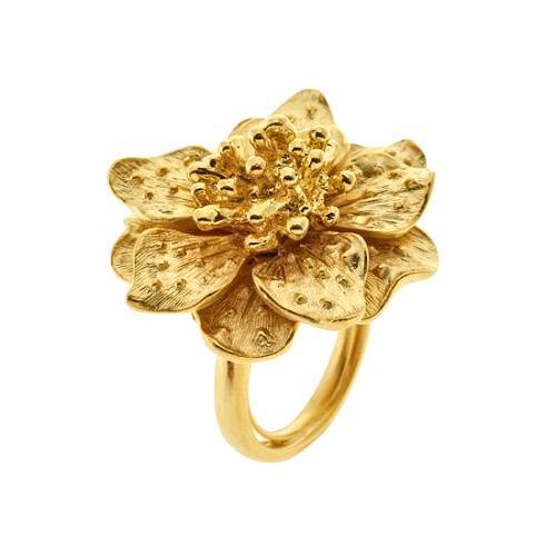 Kenneth Jay Lane Four Row Rose Quartz Coil Bracelet