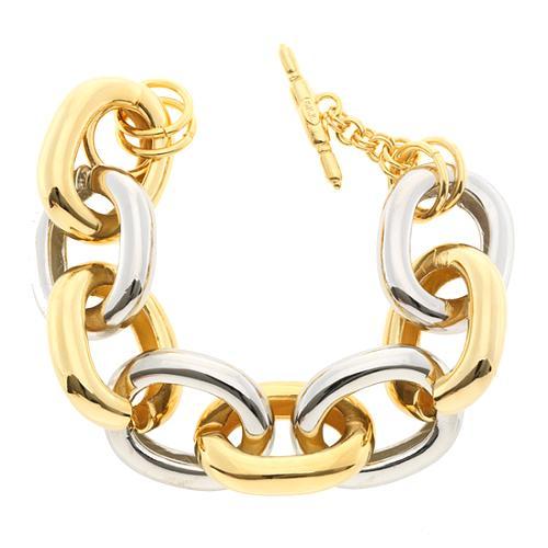 Kenneth Jay Lane Large Link Bracelet